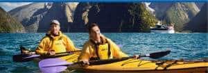 New Zealand kayaking