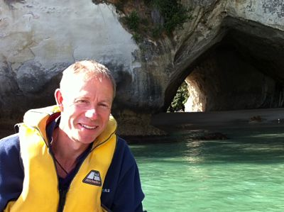 Jerry Bridge at Cathedral Cove, one of many wonderful New Zealand experiences to enjoy
