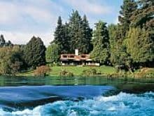 Huka Lodge - perfect for holidays to New Zealand