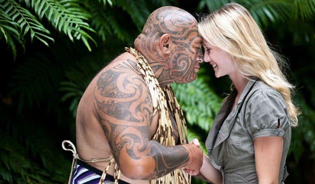 newsletter - maori culture traditional hongi