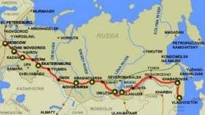 Trans Sib map image