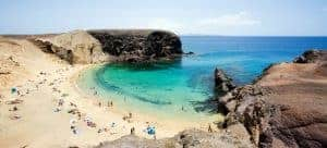Who would have thought the volcanic island of Lanzarote would have such wonderful beaches?